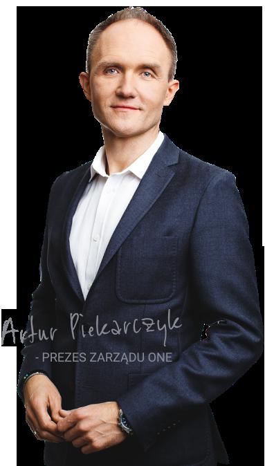 Artur Piekarczyk Prezes Zarządu ONE